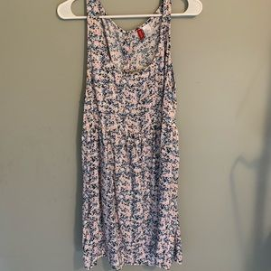 floral h&m baby doll dress